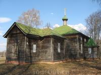 Церковь в честь святого благоверного князя Александра Невского. Построена 1905-1910гг.