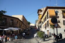 На улицах Толедо.
