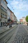 Площадь Рынок пока еще без многочисленных туристов
