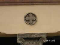 Храм Богородицы. Мальтийский крест