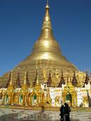 Из Рангуна в Мандалай по стране золотых пирамидок