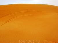 Вот она пустыня! И наши следы!