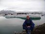 А это я уже в Йокульсаарлоне - на фабрике айсбергов.