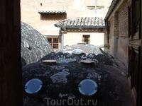 Древние бани в Альгамбре.