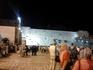 Последний пункт в экскурсии по Иерусалиму. Стена Плача. Около 9 часов вечера.Впечатляет!!!