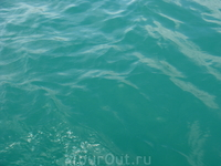 Вот такого цвета водичка в озере.