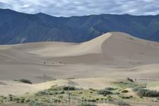дюны в горах
