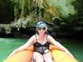 Разноцветные фантастически красивые пещеры, изумрудное море и я на каное! Кто бы мог подумать?!