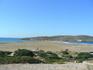 Прасониси...справа Эгейское море, слева - Средиземное