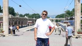 На вокзале Кисловодска.