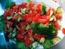 Поскольку многие мои друзья и знакомые постоянно жалуются, что на ночь им нестерпимо хочется есть, даю рецепт аччик-чучука, популярного в Узбекистане салата ...