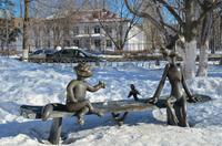 Памятник Трое из Простоквашино
