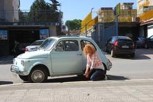 Fiat 500. Старая версия italian car
