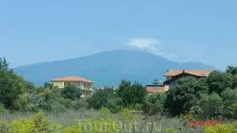 Вулкан Этна,цель моего путешествия