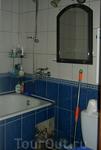 Квартира, которую мы снимали. Ванная.