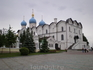 Кремль. Благовещенский собор был построен в 1556-1562 годах под руководством псковских мастеров Постника Яковлева и Ивана Ширяя на месте деревянной церкви ...