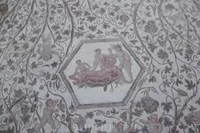 Всё та же древнеримская мозаика в это музее в основном из Дугги...