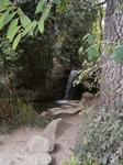 водопад очень удачно и очень продуманно вписаны в общий ланшафт