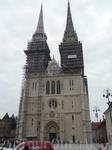 Загребский кафедральный собор.Символ современного Загреба