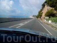 Дорога вдоль побережья, N-II, бесплатная