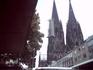 Над крышами показались башни собора