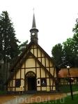 бывшая кирха, сейчас частный органный зал Светлогорска