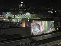 Вид на ночной Берлин