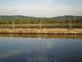Плотина Куйбышевской ГЭС