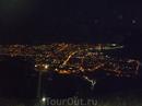 """Вечерний Геленджик.Вид с горы, где расположен развлекательный комплекс """"Олимп"""".Отоспавшись после дороги мы решили посетить именно его, поскольку недалеко ..."""