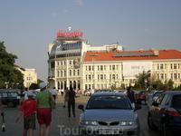 София, центр города — бул. Царь освободитель.
