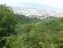 Столица Македонии - город Скопи. Вид на город с окрестных гор