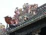 Родовой храм клана Чэнь  Декор крыши