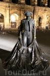 Памятник Тореодору, здесь тоже проводится коррида, но не так часто как в Испании и быка не убивают.