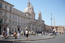 Рим.Piazza  Navona .