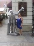 В городе можно часто встретить  такие скульптуры
