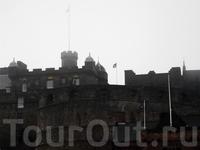 Эдинбургский замок. В тумане