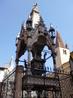 Надгробные монументы Арки Скалигеров и церковь Санта Мария Антика.