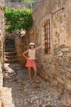 Внутри крепости находится средневековый город, который с 1903 года и по 60-е годы, стал убежищем прокаженных.