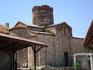 Церковь Св. Иоанна Крестителя (X век).  Когда мы там были - видели как аист залетал в цилиндрический купол церкви. Вероятно там находится его гнездо :)) ...
