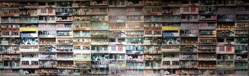 Балконы Гонконга...