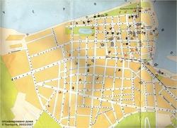 Karta Batumi S Dostoprimechatelnostyami Oteli Mesta Foto Na Karte