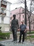 Иркутск. Памятник драматургу Вампилову