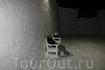 В Снежном Замке LumiLinna, можно посидеть на скамеечках и подышать свежим воздухом