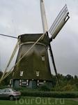 типичный голландский деревенский пейзаж