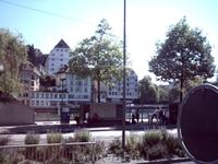 Первые дома Люцерна