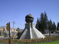 Символ города Мармарис: земной шар