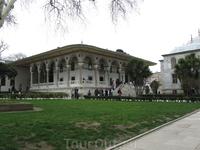Зал аудиенций во дворце Топкапи