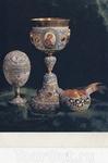 Потир, ковш и пасхальное яйцо работы Алексея Донцова.