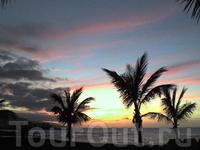 закаты в марте 2011 года на Playa Jardin