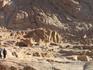 Гора Моисея (Синай); вид снизу на один из склонов